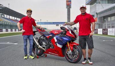 Honda: cinque star della pista a Losail per provare la CBR1000RR-R Fireblade SP