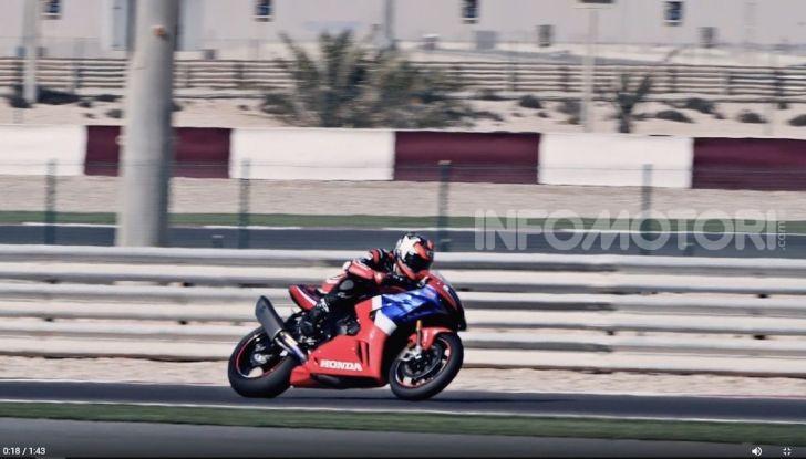 Honda: cinque star della pista a Losail per provare la CBR1000RR-R Fireblade SP - Foto 7 di 11