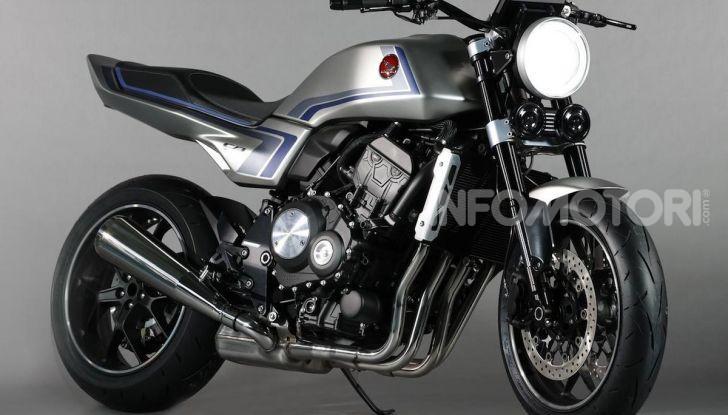 Honda Concept CB-F: look anni Ottanta ma con tanta tecnologia - Foto 1 di 5
