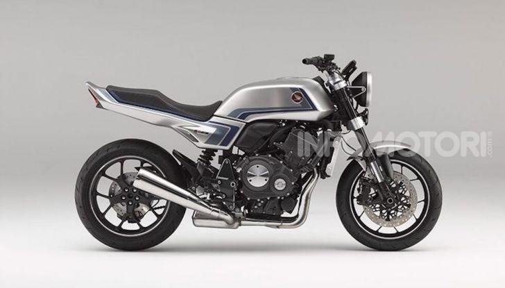 Honda Concept CB-F: look anni Ottanta ma con tanta tecnologia - Foto 2 di 5