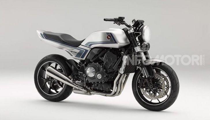 Honda Concept CB-F: look anni Ottanta ma con tanta tecnologia - Foto 3 di 5