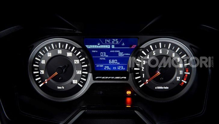 Honda Forza 300 2020 Limited Edition: look sportivo e praticità ai massimi livelli - Foto 17 di 23