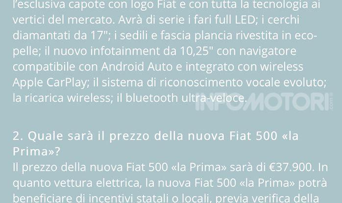 Fiat 500 elettrica comprata online ai tempi del coronavirus - Foto 13 di 18