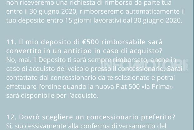 Fiat 500 elettrica comprata online ai tempi del coronavirus - Foto 15 di 18