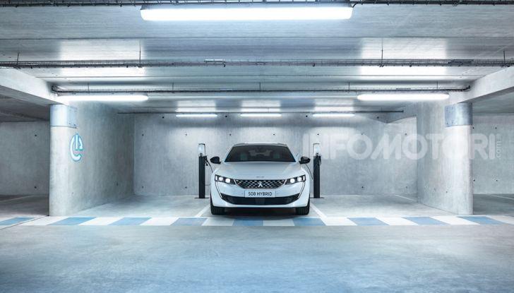 Peugeot 508 hybrid fa segnare emissioni record - Foto 3 di 7