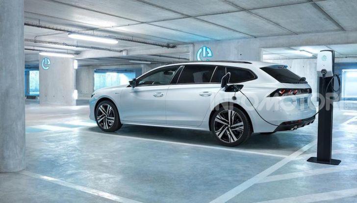 Peugeot 508 hybrid fa segnare emissioni record - Foto 4 di 7