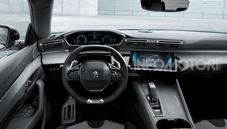 Peugeot 508 hybrid fa segnare emissioni record - Foto 5 di 7
