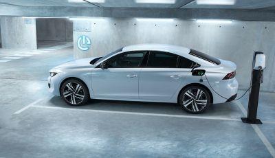 Peugeot 508 hybrid fa segnare emissioni record