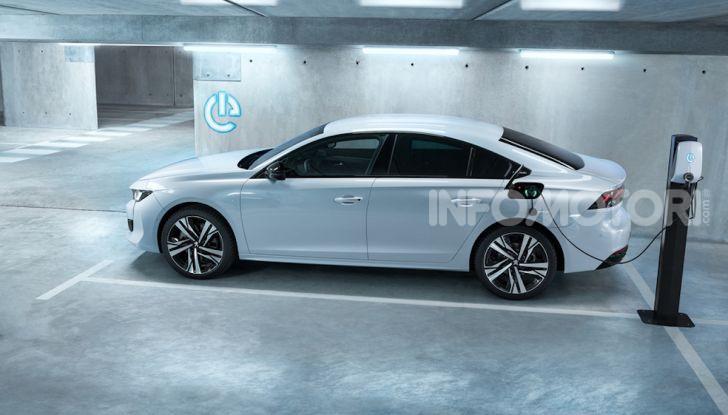 Peugeot 508 Hybrid e 508 SW Hybrid: prestazioni a zero emissioni - Foto 6 di 7