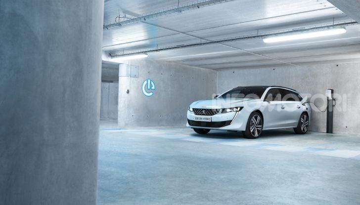 Peugeot 508 hybrid fa segnare emissioni record - Foto 7 di 7