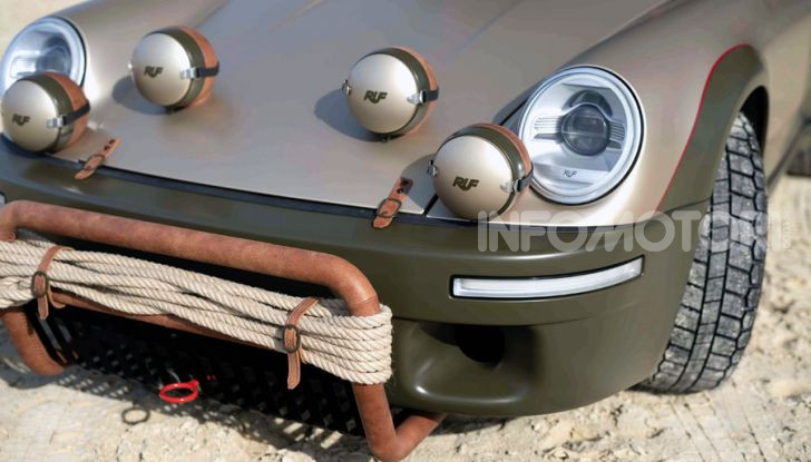 Porsche 911 Ruf Rodeo Concept: per chi ama l'avventura! - Foto 8 di 10