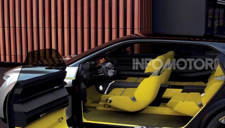 Renault Morphoz: il crossover full electric del futuro - Foto 14 di 16