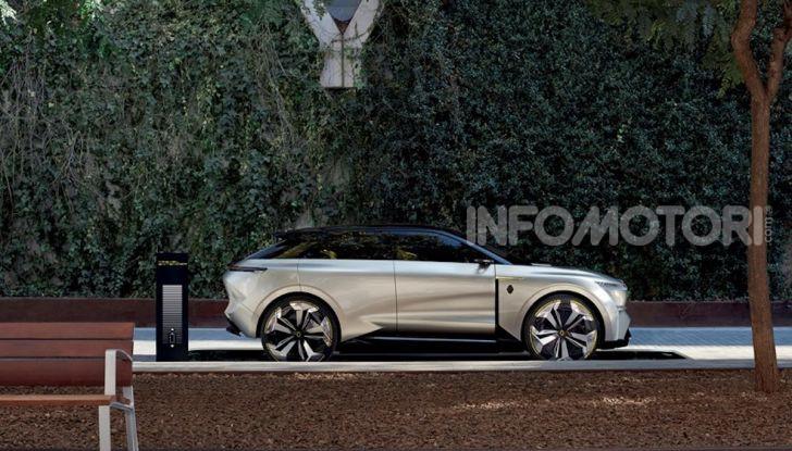 Renault Morphoz: il crossover full electric del futuro - Foto 9 di 16