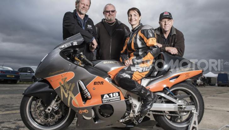 Asta da record, in vendita la moto della donna più veloce al mondo - Foto 3 di 3