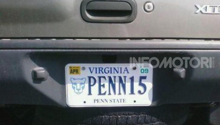 Targhe auto personalizzate, nel Vermont arrivano quelle con le Emoji - Foto 12 di 15
