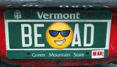 Targhe auto personalizzate, nel Vermont arrivano quelle con le Emoji