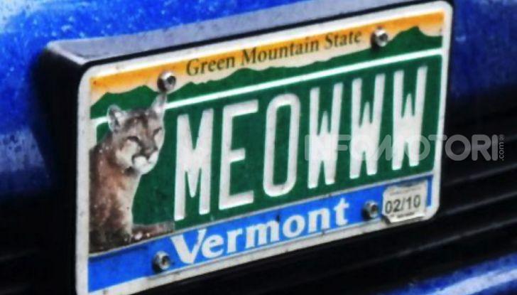 Targhe auto personalizzate, nel Vermont arrivano quelle con le Emoji - Foto 8 di 15