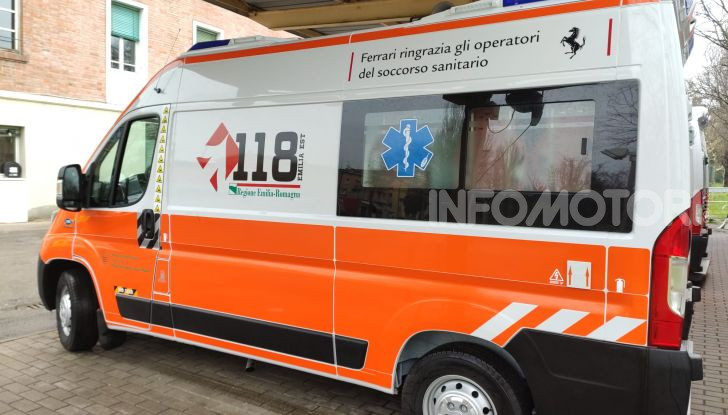 Ambulanza Coronavirus Ferrari