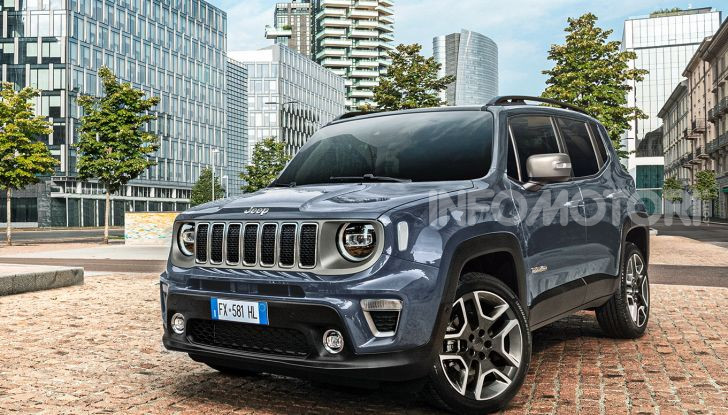 Auto KM 0 Jeep Renegade