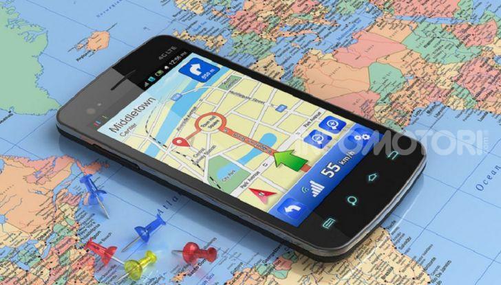 App navigazione Italia 2020