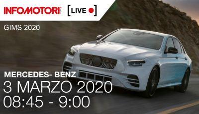 [LIVE] La presentazione della nuova Mercedes Classe E in Streaming da Ginevra