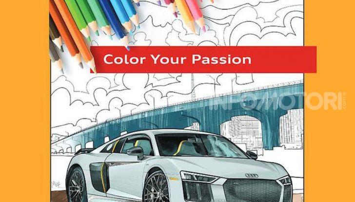Disegni da colorare gratis: la bella iniziativa di Mercedes e Audi - Foto 1 di 5