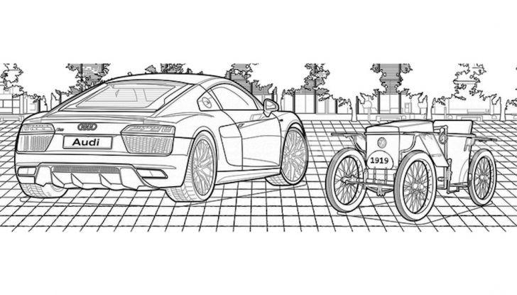 Disegni da colorare gratis: la bella iniziativa di Mercedes e Audi - Foto 2 di 5