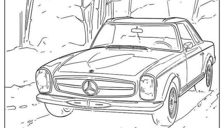 Disegni da colorare gratis: la bella iniziativa di Mercedes e Audi - Foto 5 di 5