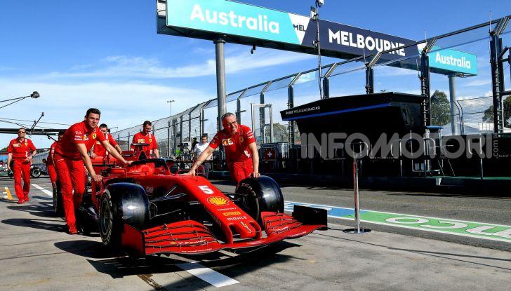 F1 2020 Melbourne Ferrari
