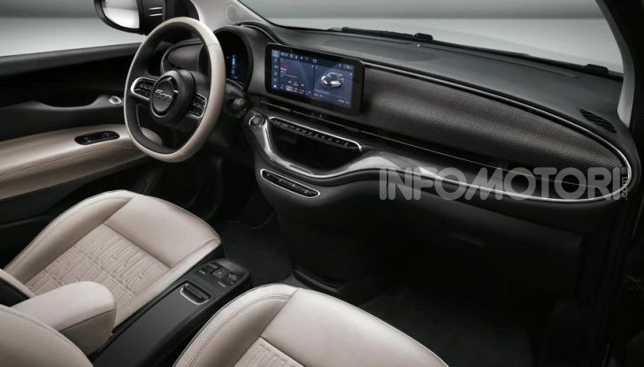 Fiat 500 Elettrica, zero emissioni per la citycar del Lingotto - Foto 3 di 5