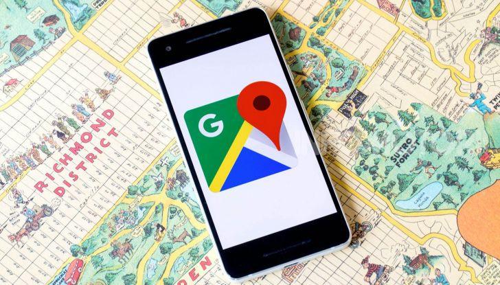Google Maps app navigazione 2020