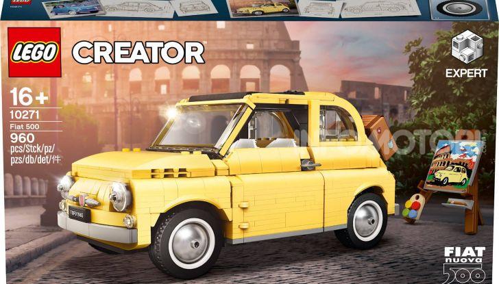Fiat 500 LEGO Creator Expert, 960 pezzi per la citycar torinese - Foto 4 di 4