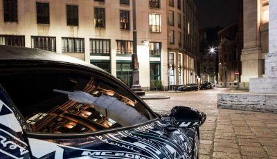 Maserati MC20: il primo prototipo ha iniziato i test a Milano