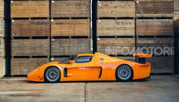 Maserati MC12 Corsa: in vendita uno dei soli 12 esemplari costruiti - Foto 12 di 18