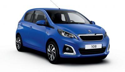 Peugeot 108 2020: nuovi colori e interni per la citycar francese