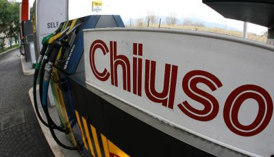 Sciopero benzinai in autostrada il 13 e il 14 maggio