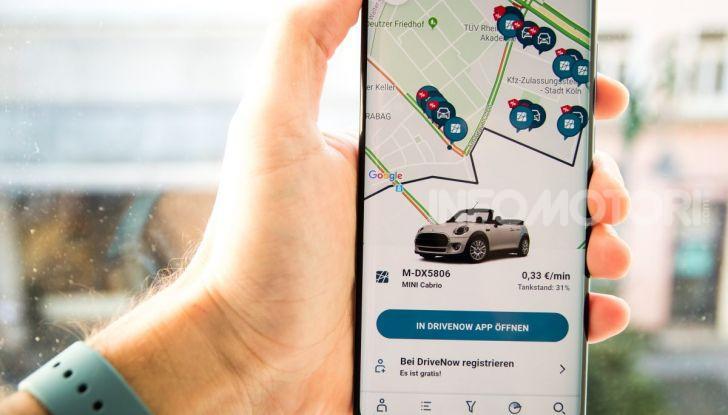 Share Now app navigazione 2020