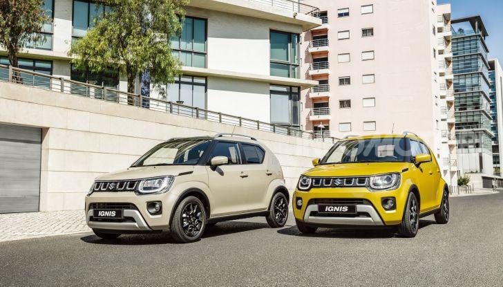 Suzuki Ignis Hybrid 2020: nuovo motore, cambio automatico e batteria più capiente - Foto 7 di 11