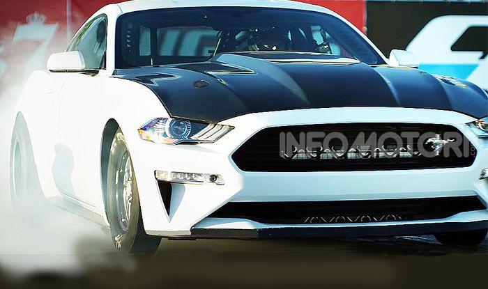 Mustang Cobra Jet 1400: la Dragster di Ford 100% elettrica - Foto 5 di 6
