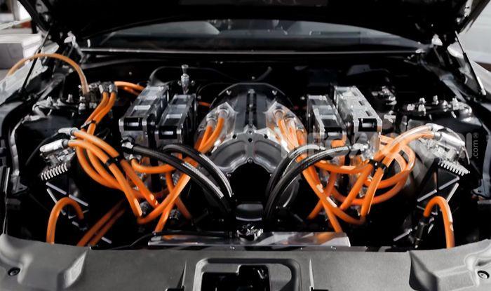Mustang Cobra Jet 1400: la Dragster di Ford 100% elettrica - Foto 2 di 6