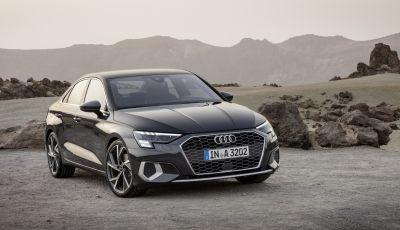 Audi A3 Sedan 2020 ora anche in versione mild-hybrid
