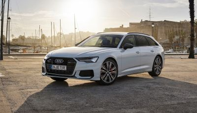 Audi A6 Avant: arriva anche la versione ibrida plug-in