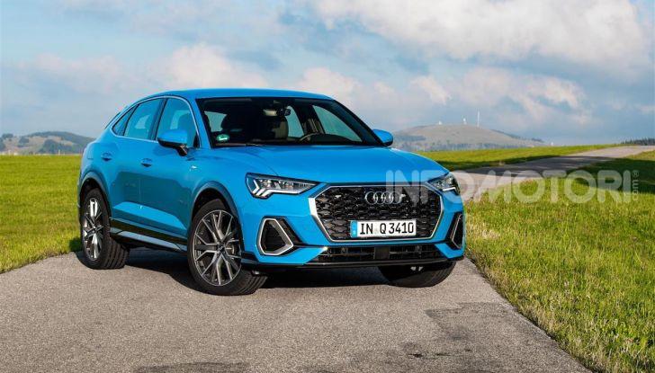 Audi Q3 e Audi Q3 Sportback: ecco la versione mild-hybrid con batteria da 48V - Foto 2 di 8