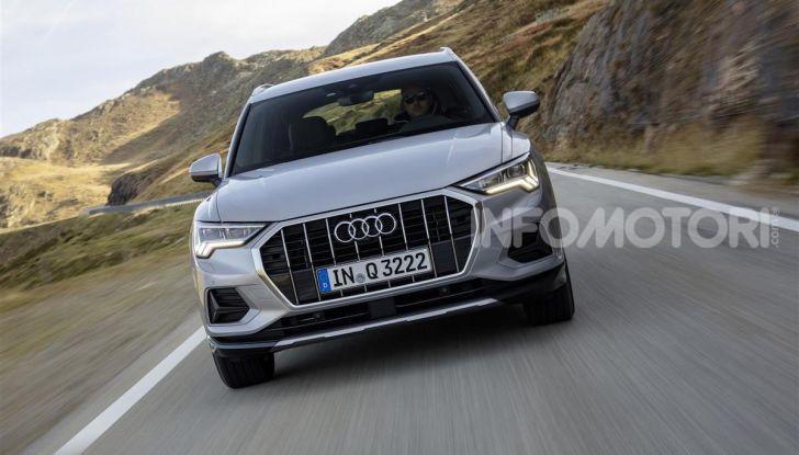 Audi Q3 e Audi Q3 Sportback: ecco la versione mild-hybrid con batteria da 48V - Foto 3 di 8