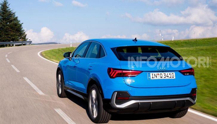 Audi Q3 e Audi Q3 Sportback: ecco la versione mild-hybrid con batteria da 48V - Foto 5 di 8