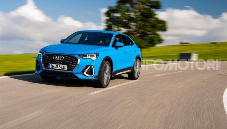 Audi Q3 e Audi Q3 Sportback: ecco la versione mild-hybrid con batteria da 48V - Foto 8 di 8