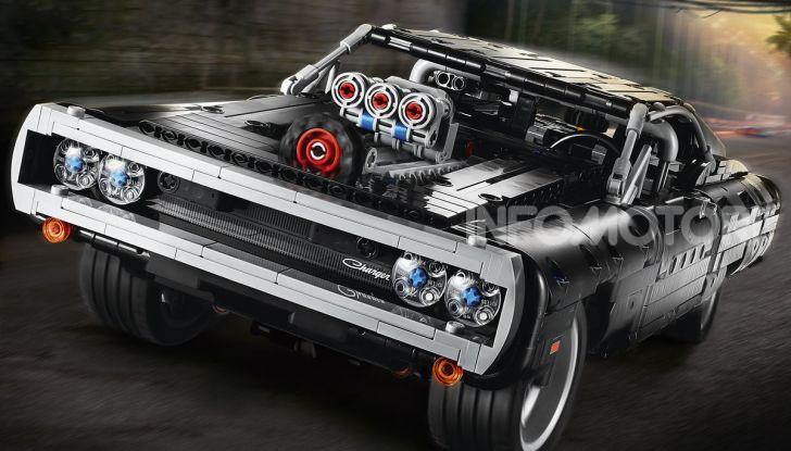 Dodge Charger Fast & Furious Lego Technic: mattoncini e potenza! - Foto 2 di 8