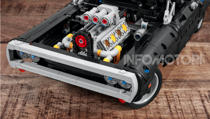 Dodge Charger Fast & Furious Lego Technic: mattoncini e potenza! - Foto 3 di 8
