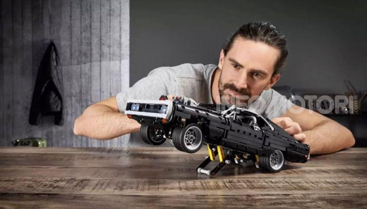 Dodge Charger Fast & Furious Lego Technic: mattoncini e potenza! - Foto 5 di 8