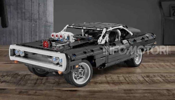 Dodge Charger Fast & Furious Lego Technic: mattoncini e potenza! - Foto 6 di 8